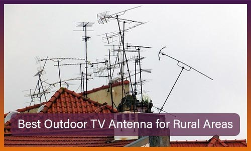 TVs Antenna for rural areas