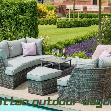 rattan outdoor daybeds
