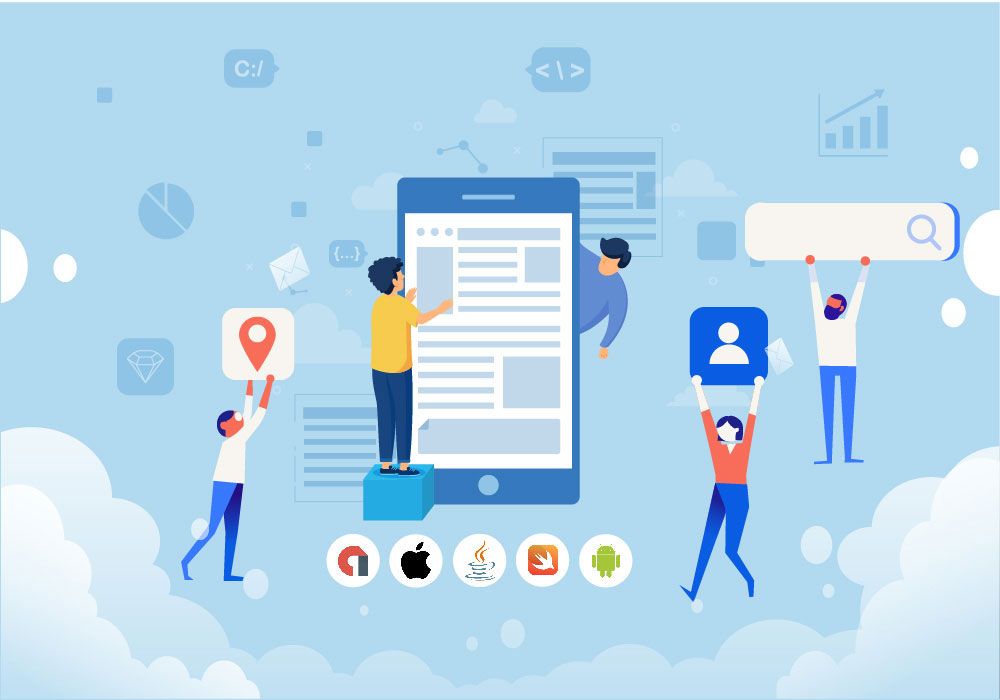 What is the Process of Developing a Mobile App in General?