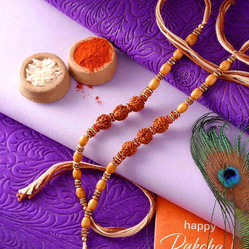 8 Traditional Rakhi Threads Crafted with Rich Indian Art & Culture