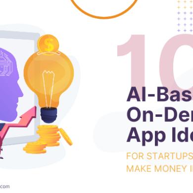 AI-Based On-Demand App Ideas