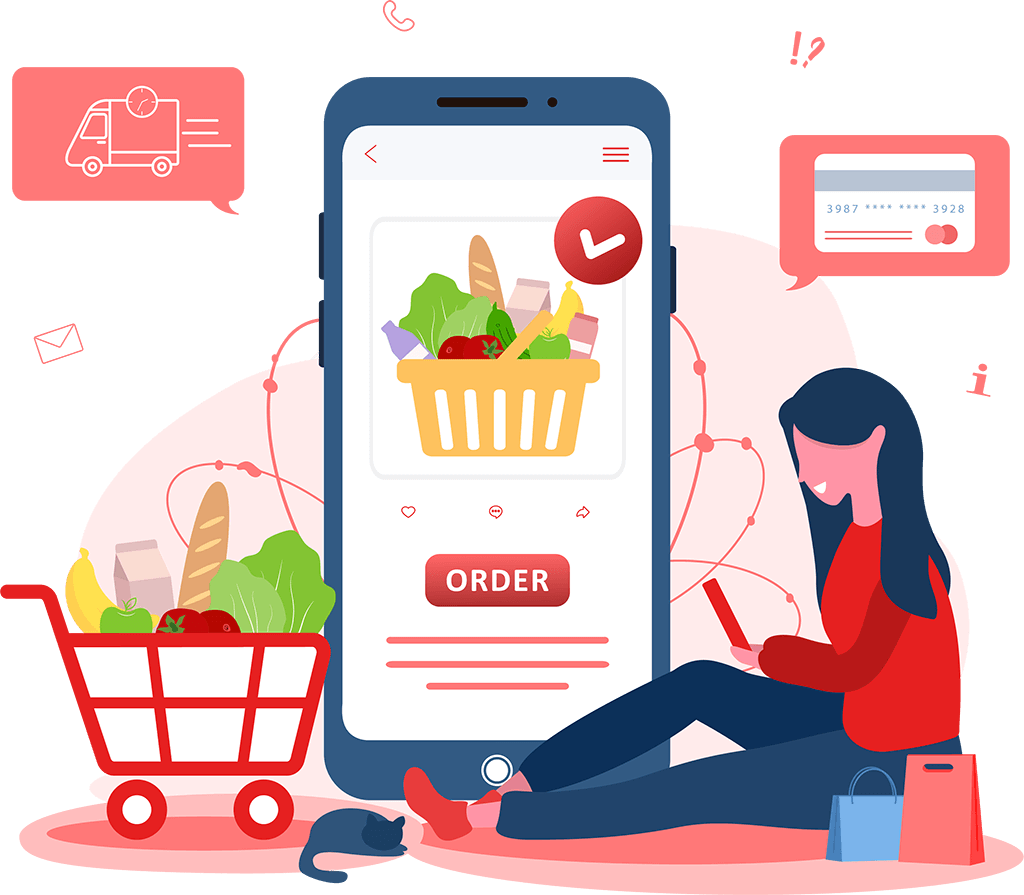 Grow Your Grocery Delivery Business With Top Features & Functionalities of Instacart Clone App