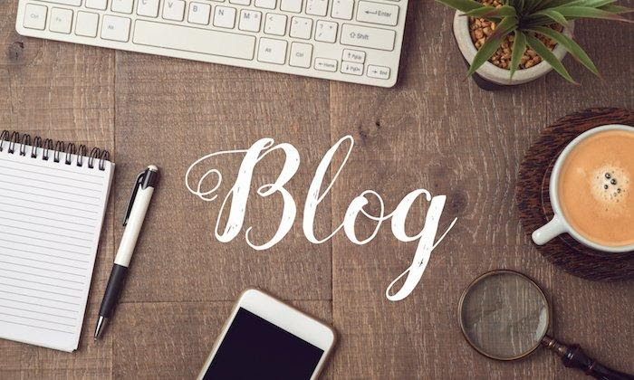 The difference between the homepage and the blog, which is stronger in attracting customers?