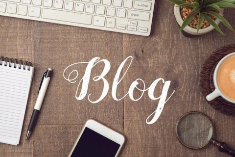 homepage Vs. blog