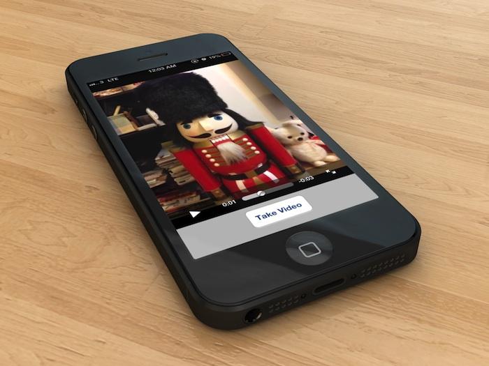 Simple Video App on iPhone