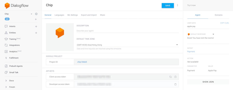 Building a Chatbot App for iOS with Dialogflow (API.AI