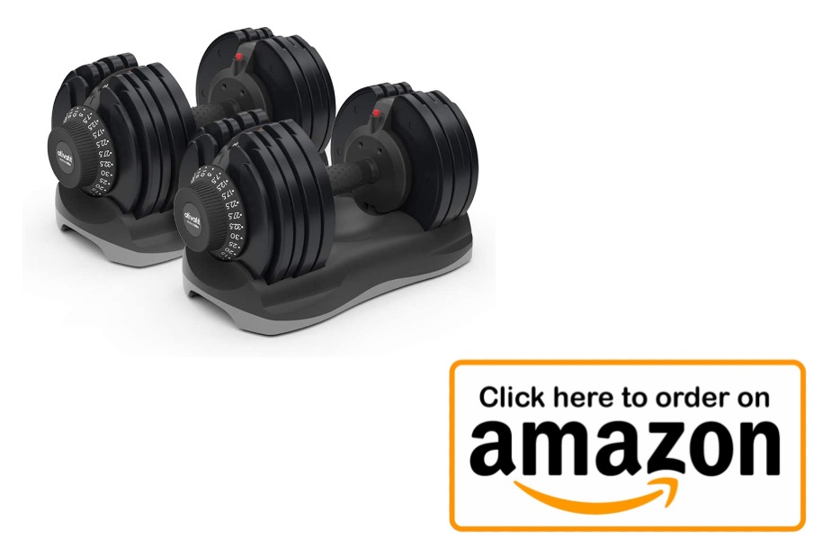 Adjustable Dumbbells - Build a Home Gym in a limited space