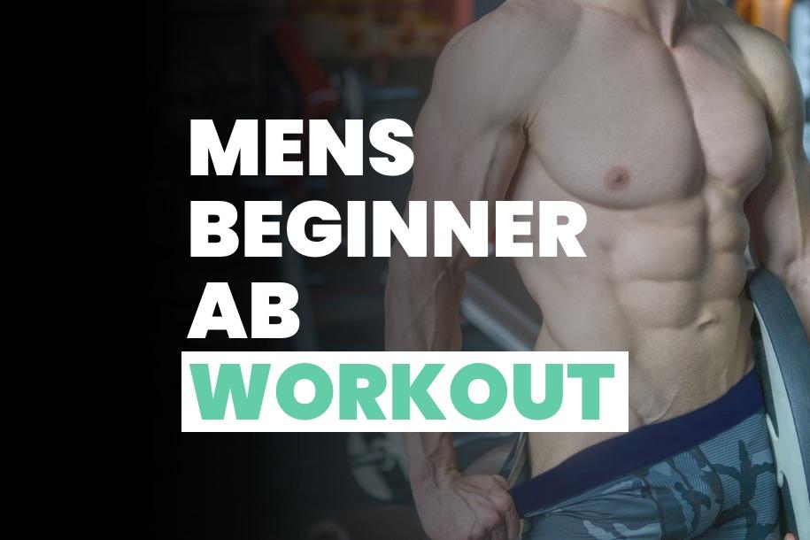 Mens Beginner Ab Workout