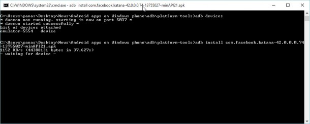 install android on windows 10 mobile_6