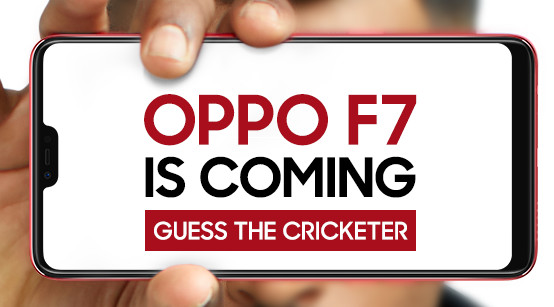 OPPO F7 India launch teaser Oppo next selfie expert F7 teasing images confirms the design and release date of a smartphone