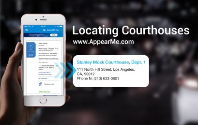 Locating Courthouses for Your Appearances