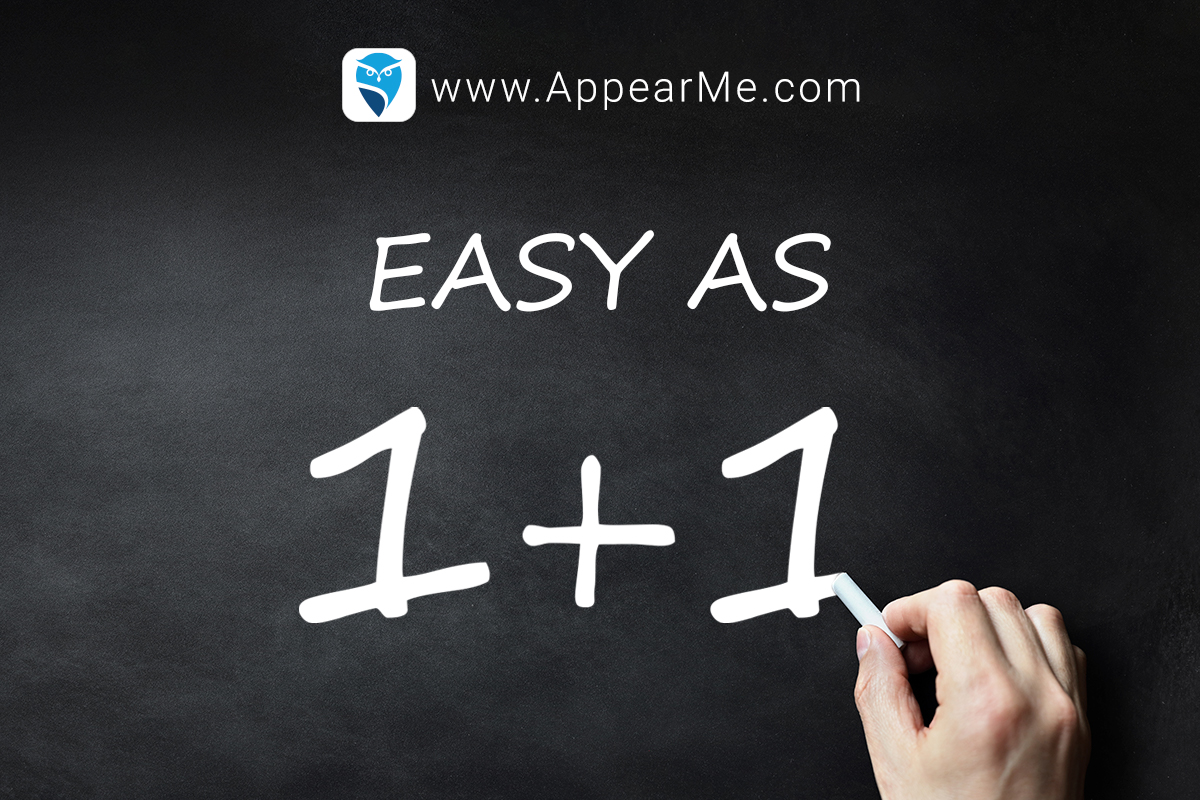 Finding an appearance attorney is easy as 1+1