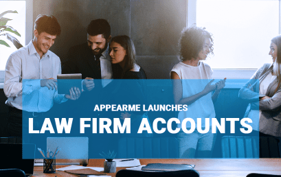 AppearMe Launches Law Firm Accounts!