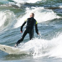 Surfing Österlen