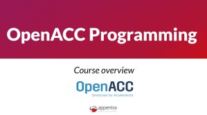 OpenACC Programming