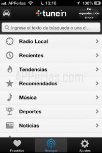 app TuneIn Radio