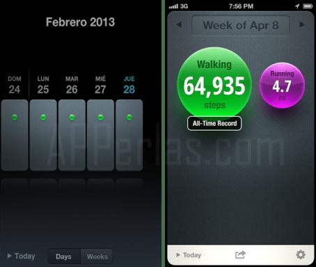 App moves