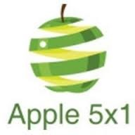 Logo Apple 5x1