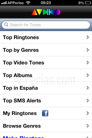 Unlimtones Tonos gratis para tu iPhone