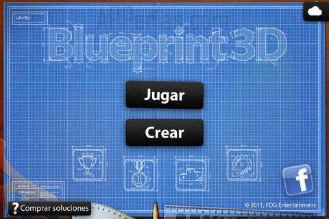 Pantalla inicio Blueprint 3D
