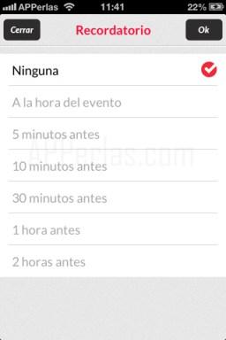 alertas en app para tv