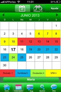 Calendario para entender a las mujeres