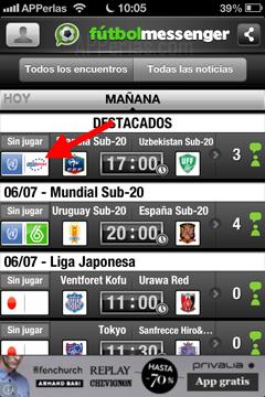 Info sobre canal que emite el partido, fichajes de fútbol, noticias y resultados