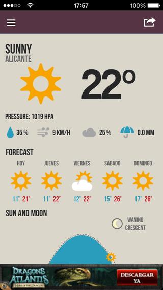 Temperatura de tu ciudad