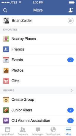 Novedades en Facebook
