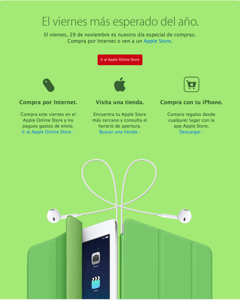 Ofertas para iPad y iPhone
