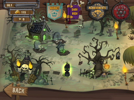 Skull Legends para iPhone y iPad