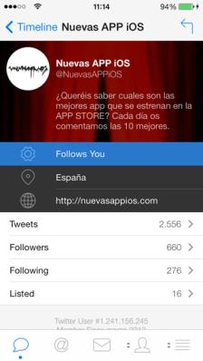 mejor app para twitter en iOS