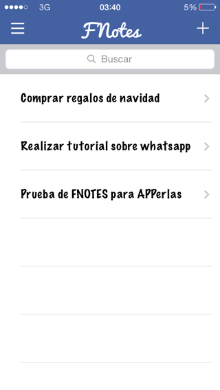 alternativa a la app de notas de iPhone