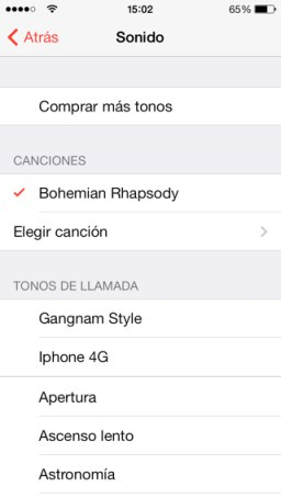 Alarma del iPhone y dispositivos iOS