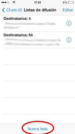 enviar un mensaje a muchas personas en iPhone