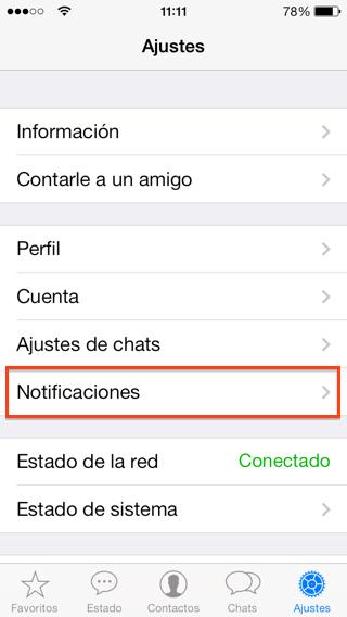 Silenciar para siempre los grupos de Whatsapp en iPhone