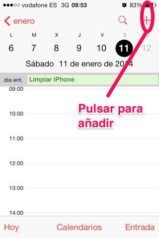 crear un evento en calendario que se repita