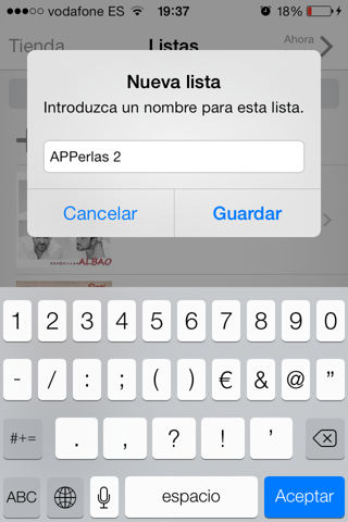 listas de reproducción iphone, ipad, ipod