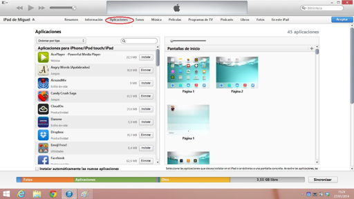 Pasar vídeos al iPhone, iPad y iPod Touch
