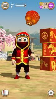 CLUMSY NINJA, se actualiza el mismo día del cambio de año chino