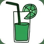 Zumos de verduras con frutas, una app muy sabrosa