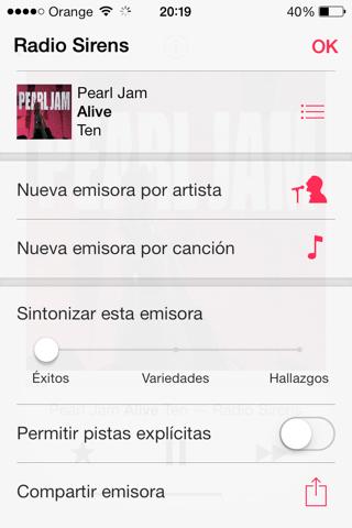 iTunes radio en España