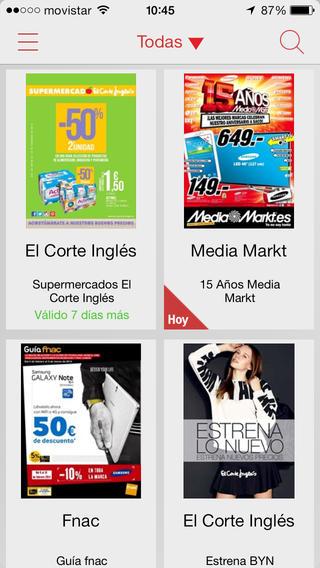 App de catálogos TIENDEO