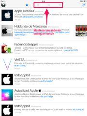 Configurar los botones de Twitterrific - APPerlas