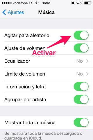 canción agitando el iPhone 2