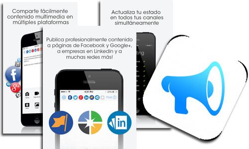APP para publicar en muchas redes sociales desde iOS