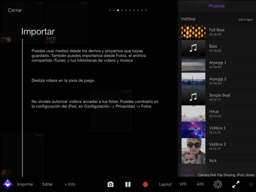 Componer música con iPad