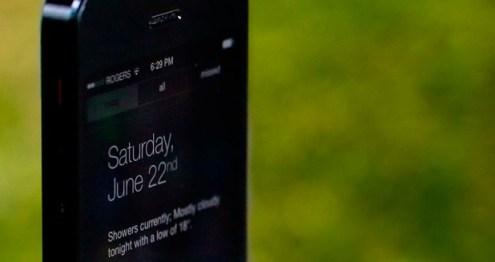 Centro de notificaciones iOS