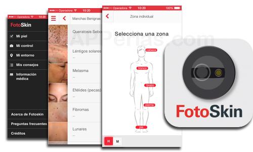 Aplicación para el cáncer de piel