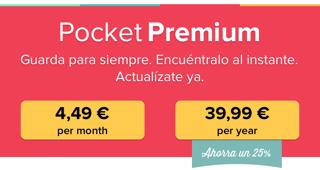 Pocket Premium Precios